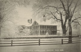 Lawrence Homestead Groton Winter 1888