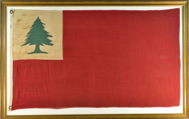 Antique Bunker HIll Flag