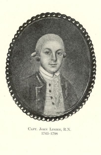 Capt. John Linzee R.N. 1743-1798