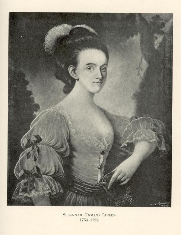 Susannah Inman Linzee 1754-1792