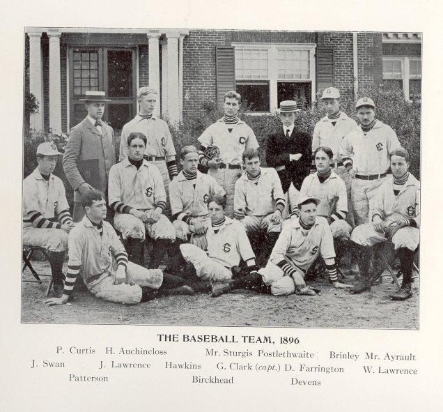 Groton School yearbook photos 1894-1896 00002