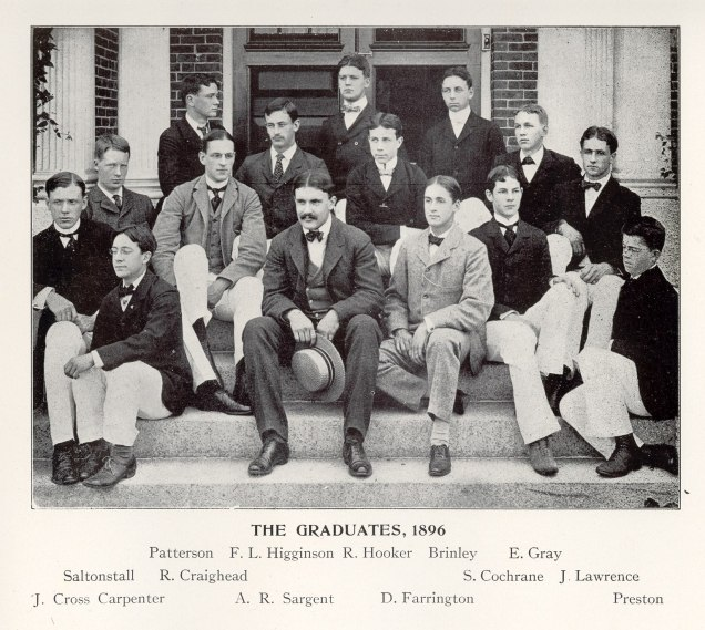 Groton School yearbook photos 1894-1896 00003