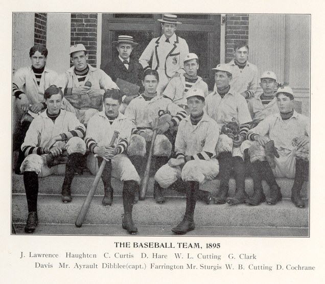 Groton School yearbook photos 1894-1896 00005