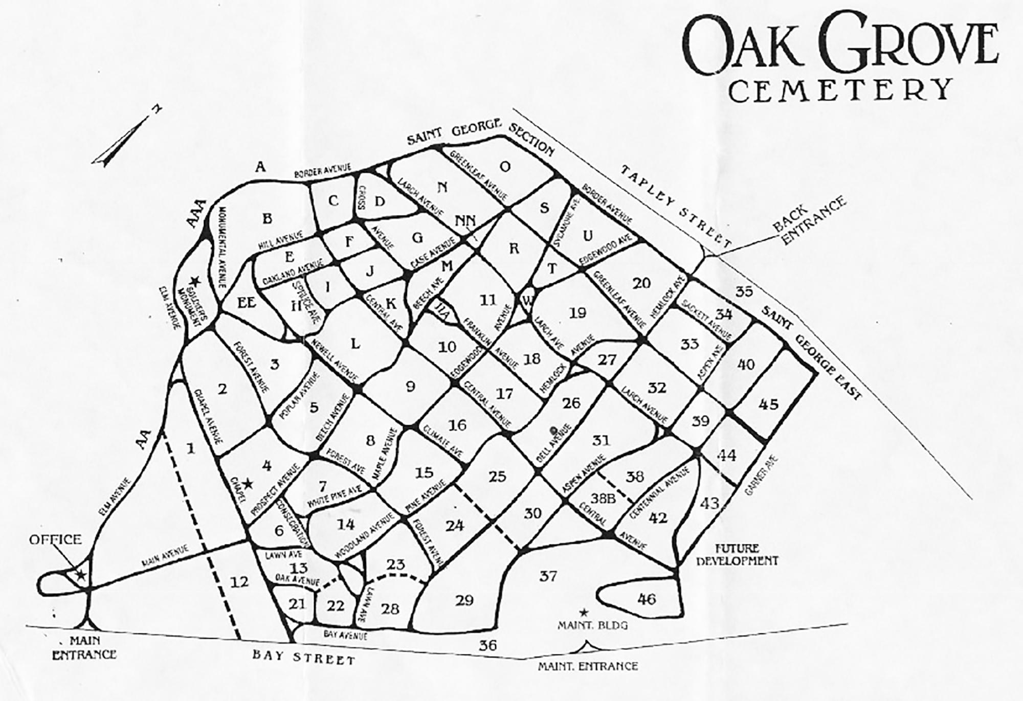 map-of-oak-grove-bnw