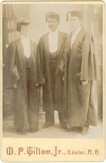 HTS, Exeter graduation 1893