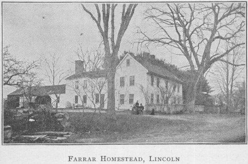 Farrar Homestead from Beneath Od Roof Trees