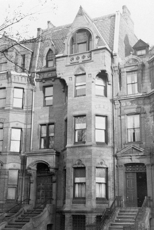 Howard Swain's office and home at 226 Commonwealth Ave
