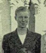 Sonoma HS yearbook 1945 boys half V Baeff