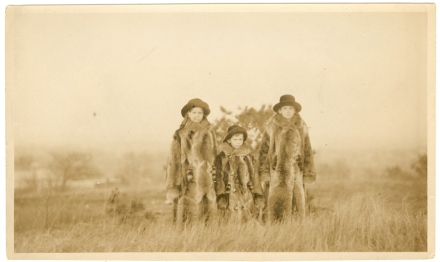 The First Fur Coats